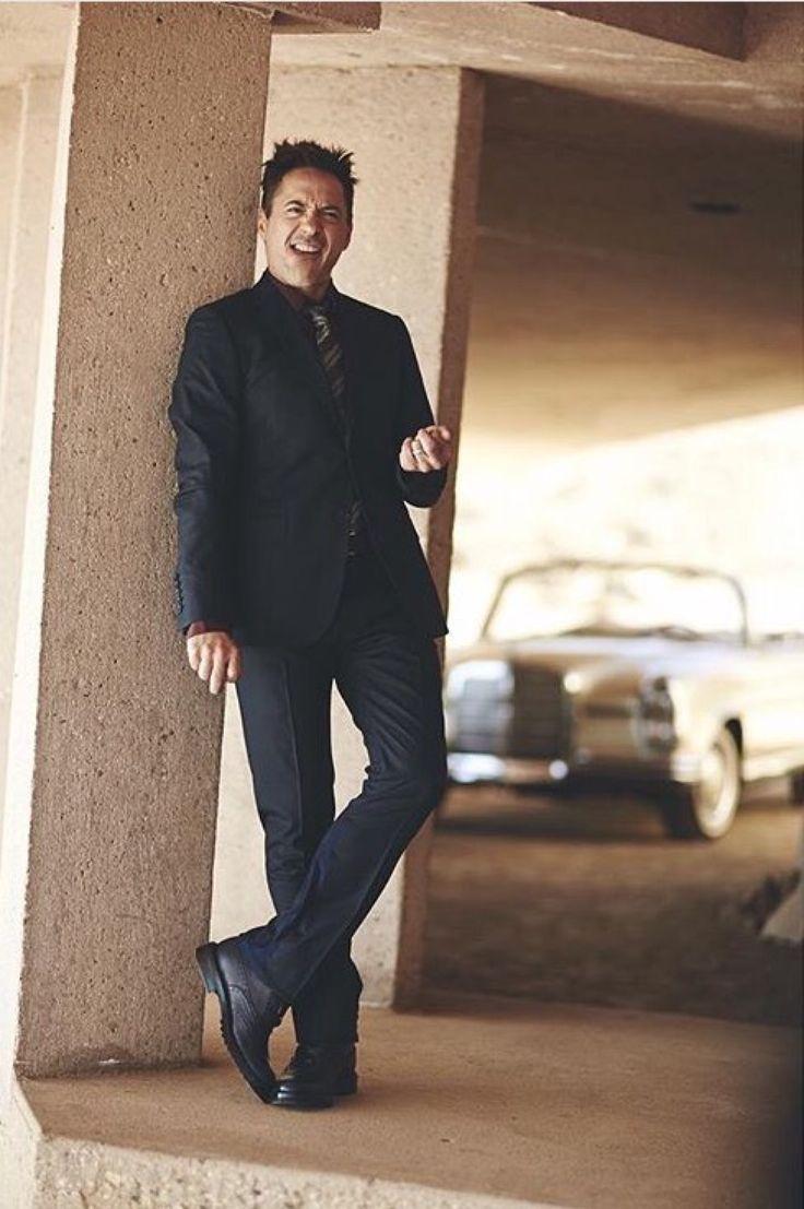Robert Downey Jr exclusive PHOTOSHOOT by Tom Craig