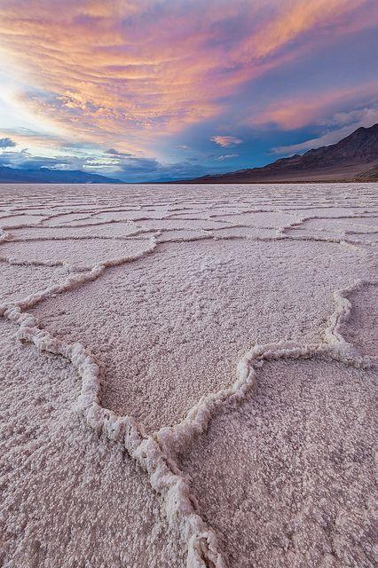 Death Valley National Park, Arizona, USA.  Below sea level, N. America's lowest altitude. Want to gooooo