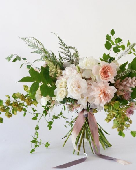 Kimberly Rose Floral Design in Napa California can create a stunning wedding bouquet for you!