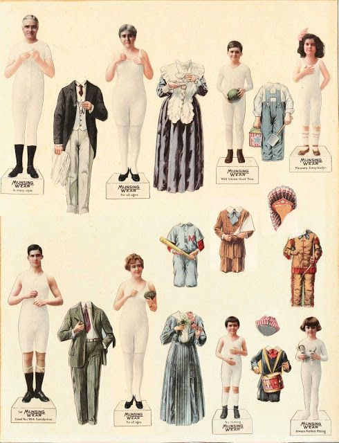 Paper dolls for characters we study so they can place people in chronological order using fashion. Sam Houston before Lyndon Johnson. Could be fun!