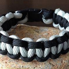 Bracelet paracorde 20 cm, bracelet de survie