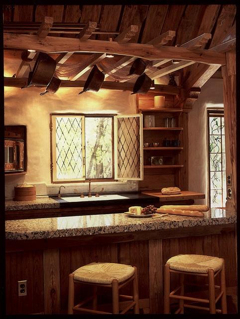 Kitchen by Gary Zuker, via Flickr: Kitchens, House Ideas, Dream House, Hobbit Houses, Cob Homes, Cob Houses, Cob Kitchen