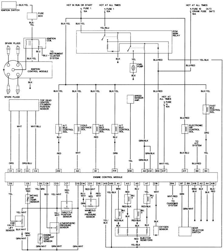 1988 Honda Accord Wiring Diagram Kgt And Honda accord