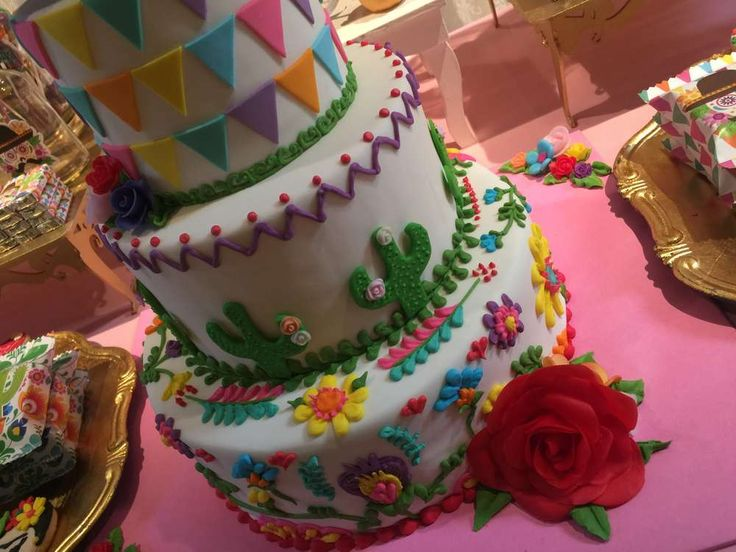 Frida Kahlo - mexican party Birthday Party Ideas   Photo 9 of 29