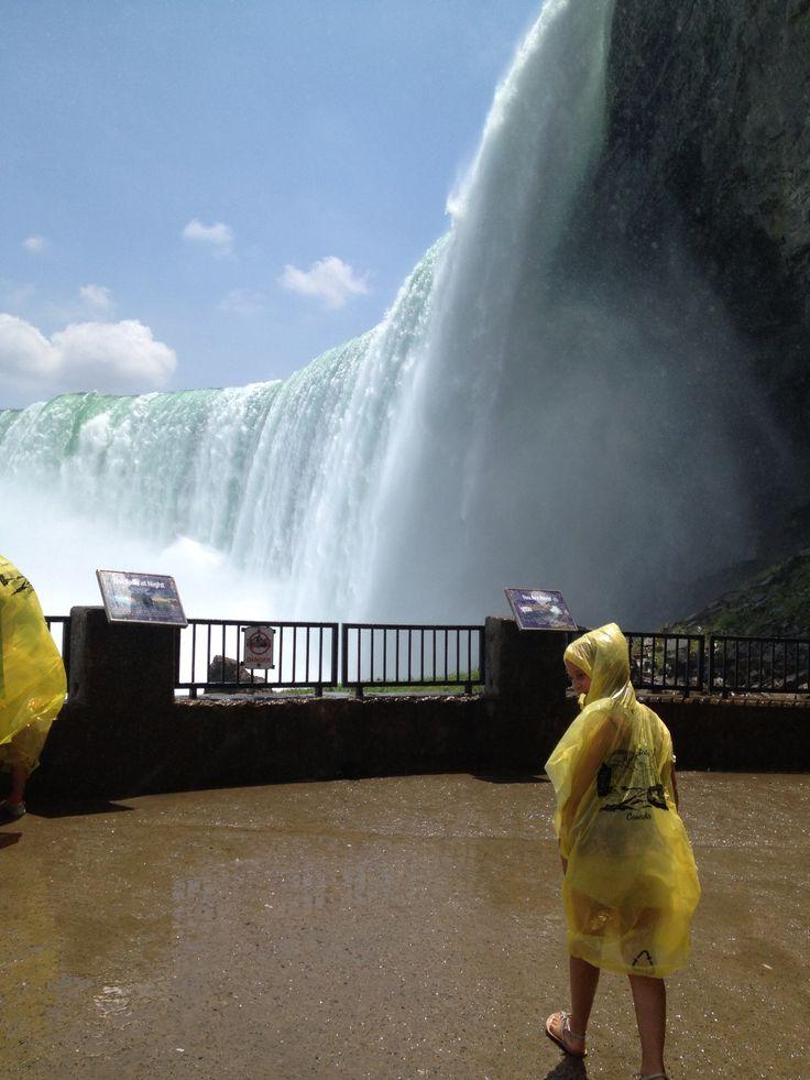 Niagara Falls Canada -- Journey behind the Falls