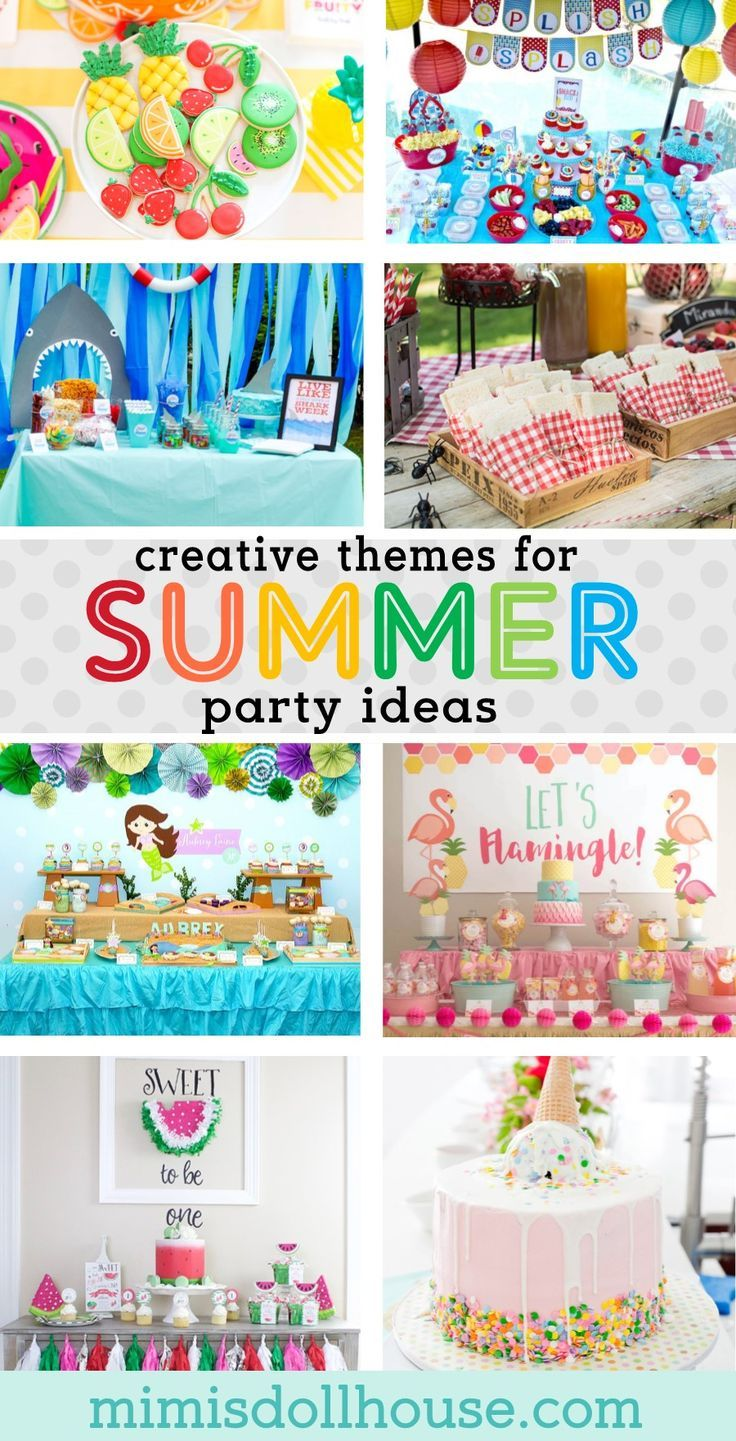 Keep Cool With These Hot Summer Party Themes Summer Party Themes