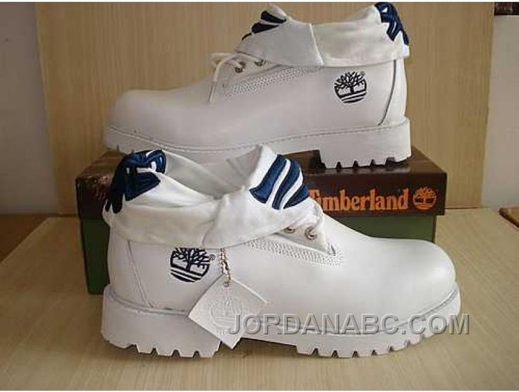 http://www.jordanabc.com/timberland-roll-top-white-boots-for-womens-on-sale.html TIMBERLAND ROLL TOP WHITE BOOTS FOR WOMENS ON SALE Only $103.00 , Free Shipping!