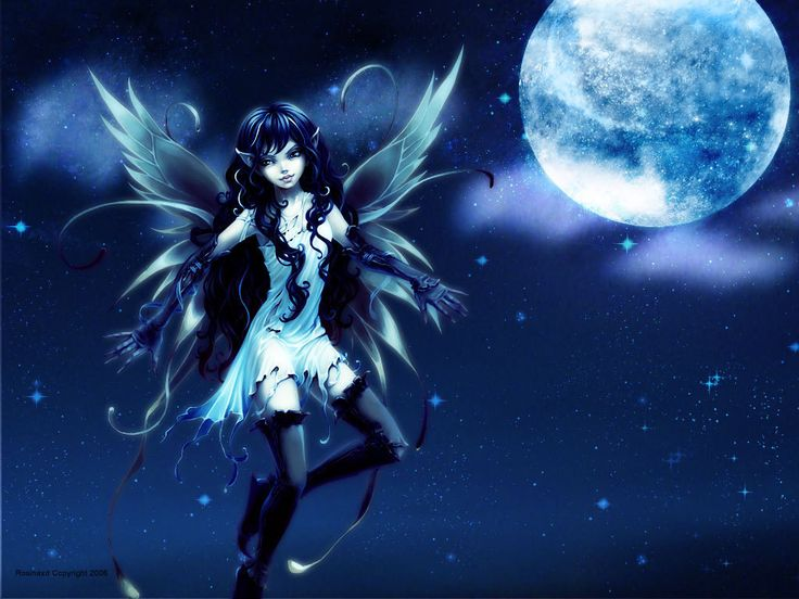 Anime Fairy Water wallpaper from Angels wallpapers