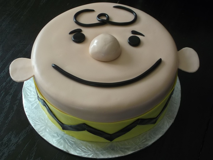 Cake Designs By Jackie Brown : I love Charlie Brown Cake by Jackie s Just Desserts ...