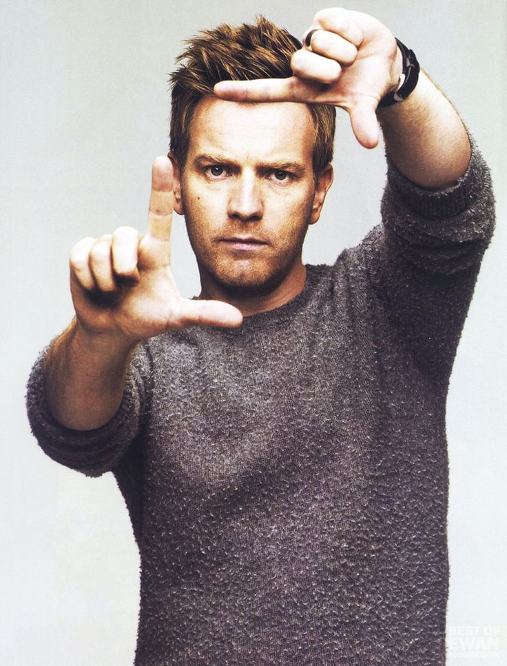 What a great picture of Ewan McGregor.