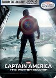 Captain America: The Winter Soldier [3D] [Blu-ray] [Digital Copy] [Steelbook] [Only @ Best Buy] [Blu-ray/Blu-ray 3D] [2014]