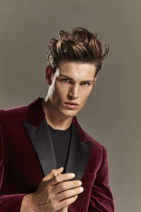 Idee tagli di capelli uomo autunno inverno 2016-2017 - Taglio da principe moderno proposto da Cotril per l'autunno 2016