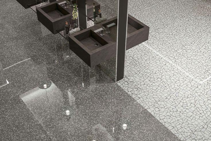 Tiles inspired by Palladiana flooring for modern bathroom ...