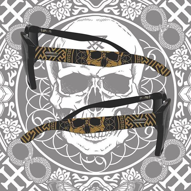 """Mandala"" Sunglasses Available at www.crmcclothing.co 