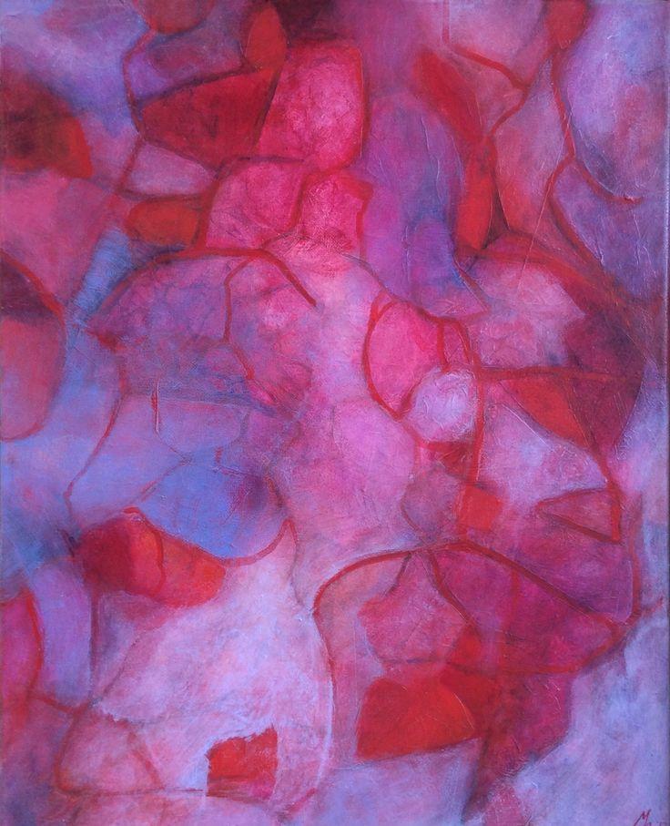 Abstract painting# acryl on canvas #mirjamrinkel