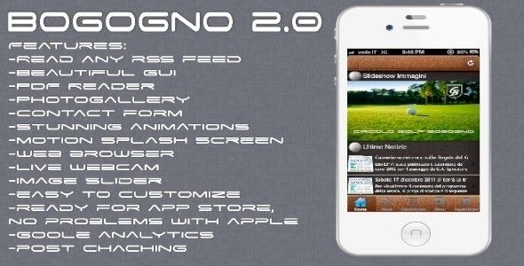 CodeCanyon - Bogogno 2.0 | Blog & Utility App v1.2