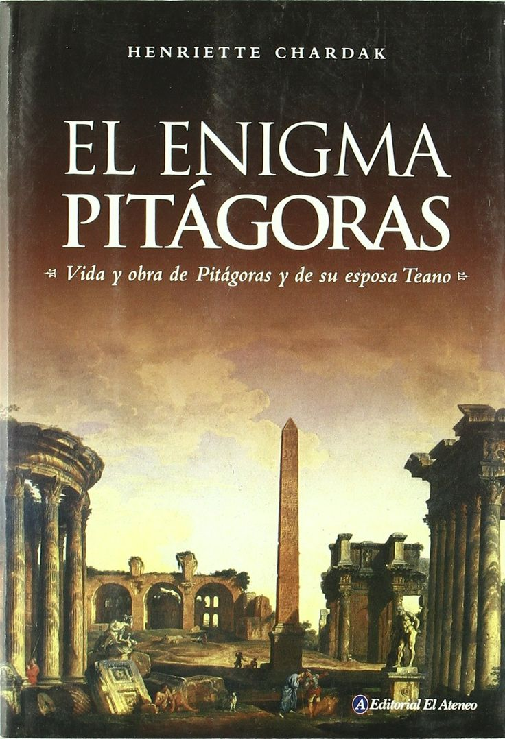 El enigma de Pitagoras. Henriette Edwige Chardak