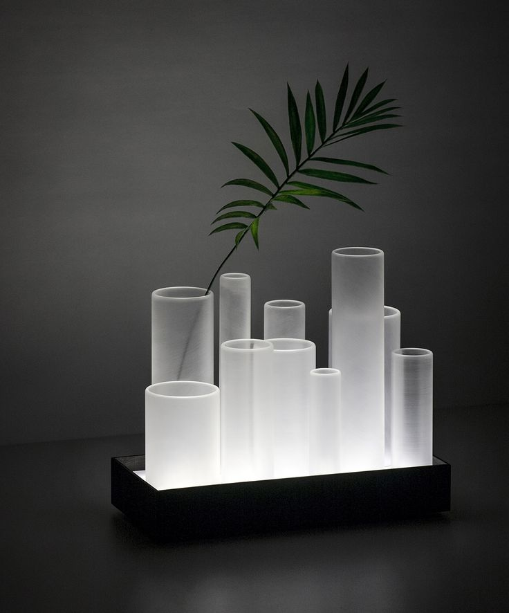 Ferreol Babin's under-lit Frost organizer set for bathroom brand Cotto's annual Another Perspective show