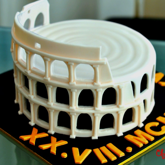 The Coliseum Cake By Cherry S Cakes Celebrates