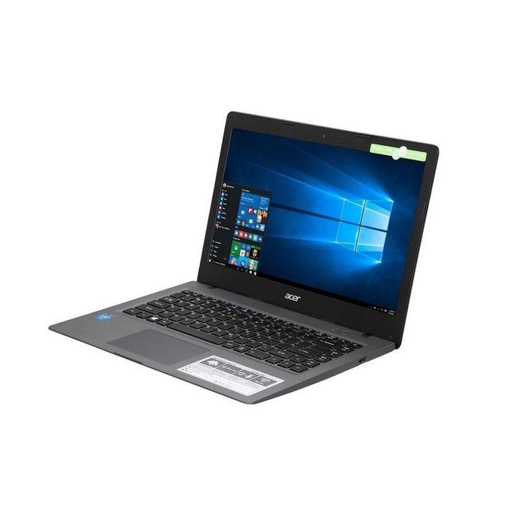 Acer Aspire one Cloudbook 11 Intel Celeron N3050 1.60GHz 2GB 16GB SSD WebCam 11.6 NX.SHHAA.001 Windows 10 Pro Gray