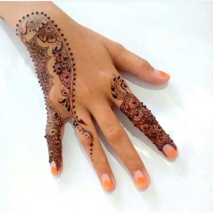 "68 Likes, 1 Comments - imehndi.com (@imehndicom) on Instagram: ""Henna by @nilam__queen Follow artist #repost #mehndi #henna #mehndi #details #naturalhenna…"""