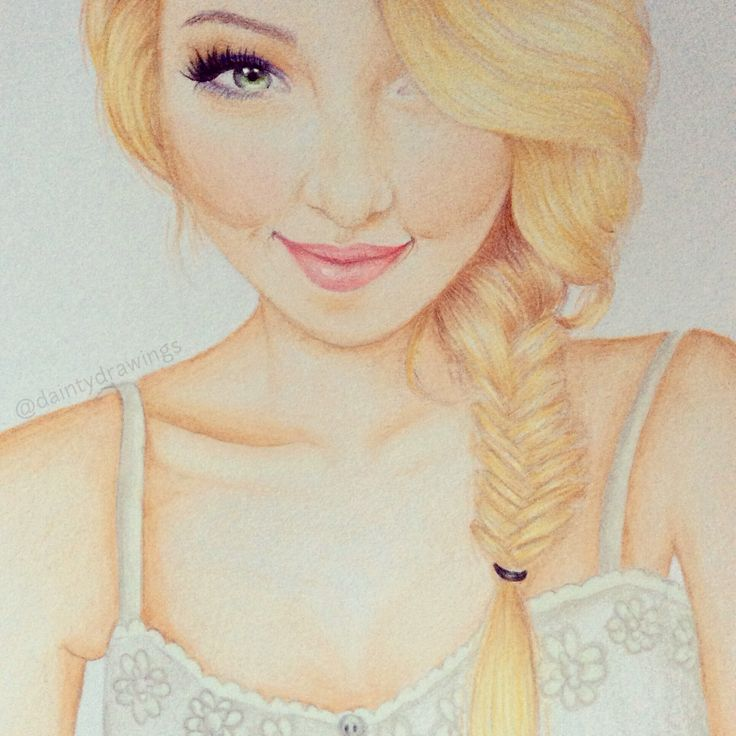 Dove Cameron drawing by daintydrawings on Instagram #dove #disney