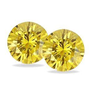 4 Stück gelbe Diamanten SI2 /1.00 Karat bei www.juwelierhausabt.de für nur 1450.00 Euro