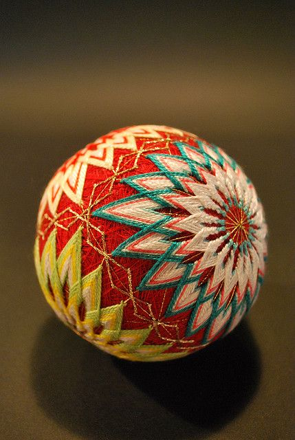 traditional Japanese handball, Temari
