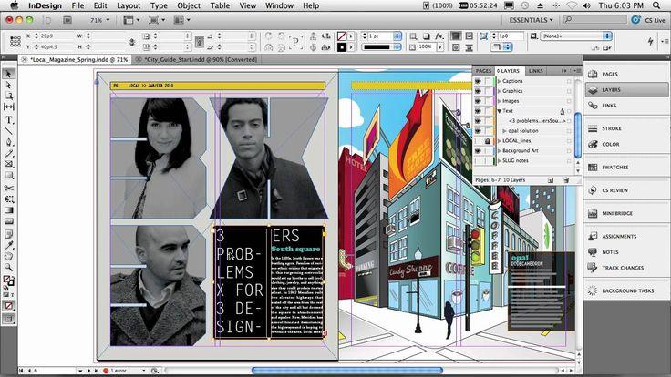 Adobe InDesign CS5 - My Top 5 Favorite Features