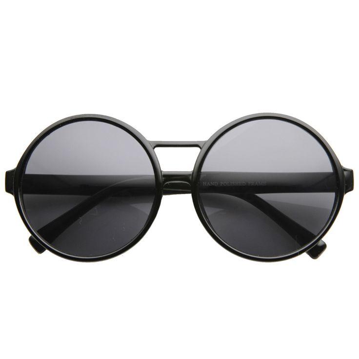 Super Round Oversize Fashion Sunglasses 8636