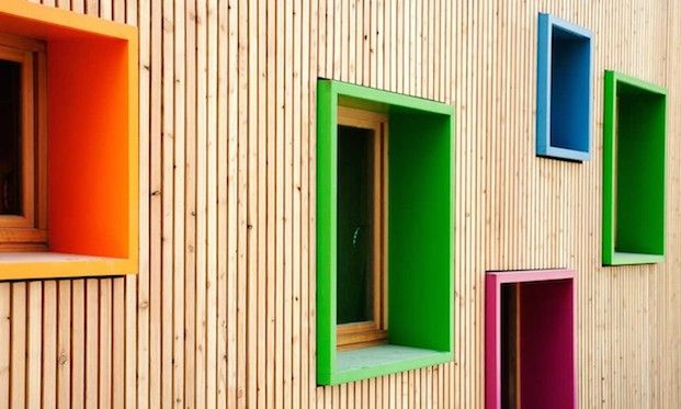 Экологичный детский сад в Испании