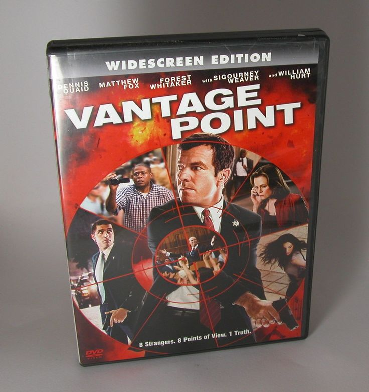 Vantage Point (Widescreen Edition) Dennis Quaid, Matthew Fox, Forest Whitaker 2008 Pre-Owned DVD