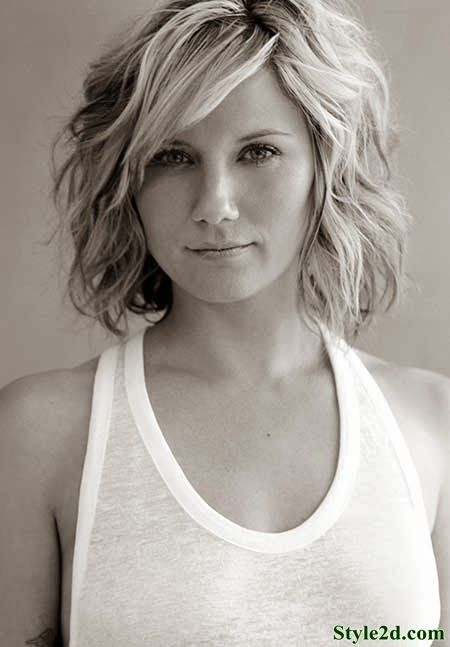 Short Wavy Hairstyles Pictures For 2014