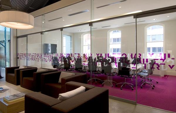 Conference Room Interior, Carpet, Magenta, Tretford, Pink, Purple, Office Interior