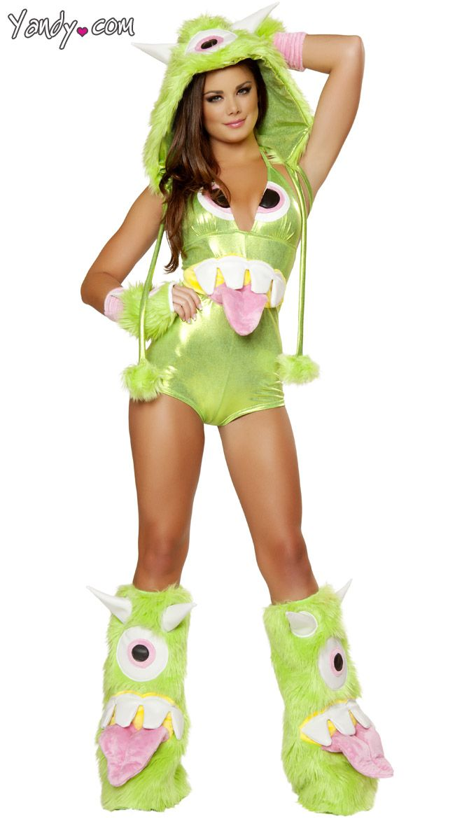deluxe one eyed monster costume monster halloween costume monster girl costume green monster costume - Green Halloween Dress