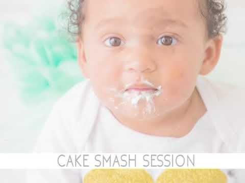 Ellla Cake Smash Session - Samantha Jackson Photography