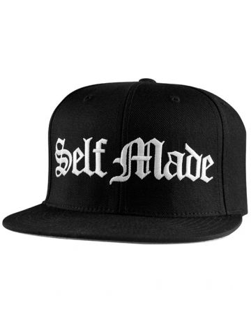 """Self Made Dues Paid"" Snapback Cap by Famous Stars and Straps (Black) #InkedShop #SelfMade #snapback #hat #mens"