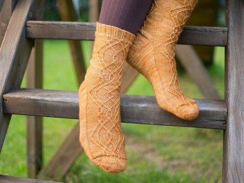 Charlotta II Socks
