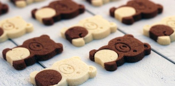 Easy teddy bear cookies.