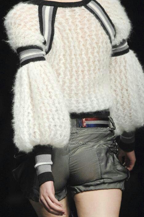 maglione stringato