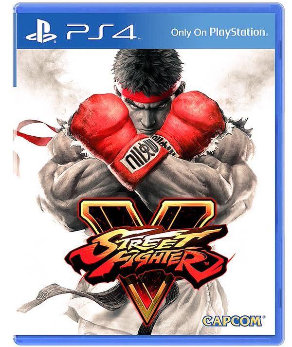 Street Fighter V cover.