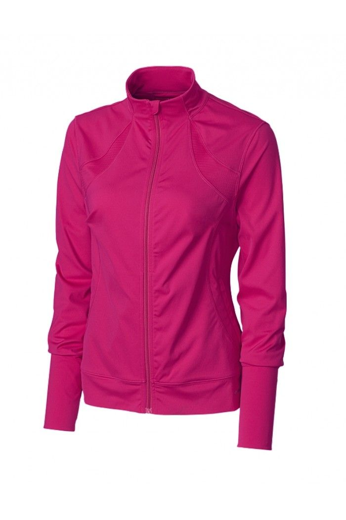 Women's Golf Clothing | Annika Mesh Long Sleeve Shirt : LAK04397