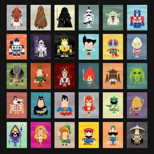 Knack Character Select