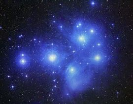 Matariki - the Pleiades, a star cluster in the constellation Taurus.