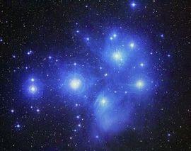 Matariki - the Pleiades, a star cluster in the constellation Taurus.