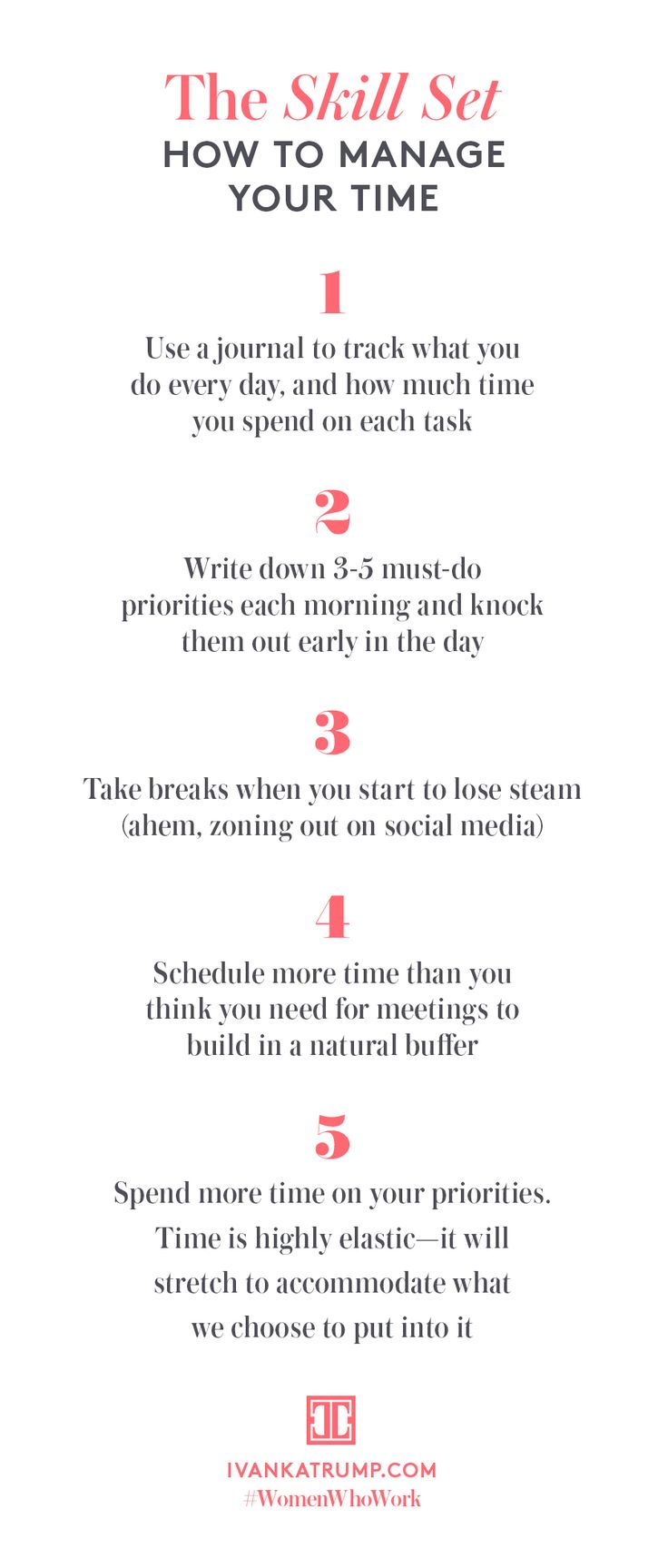 Try these clever tips for making the most of the time you have. #WomenWhoWork…                                                                                                                                                                                 Más
