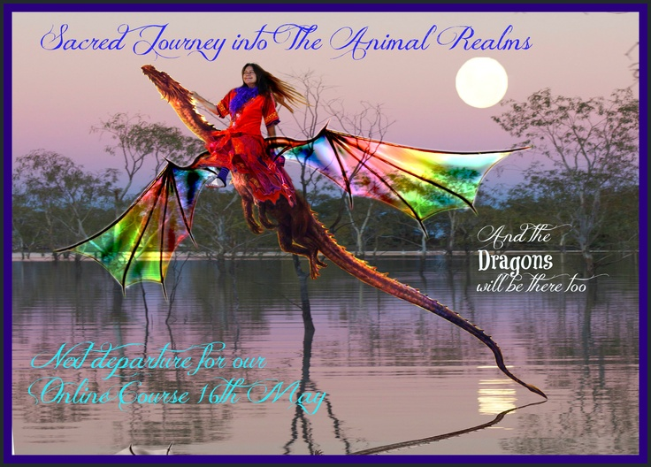 Sacred Journey into the Animals Realms Online coursehttp://yourcreativewitchery.com/sacredjourney