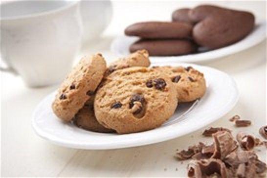 Μπισκότα με κομματάκια σοκολάτας! |