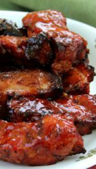 Country Style Ribs with Pepper Jelly Barbecue Sauce