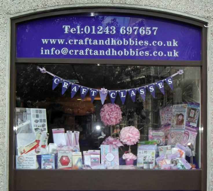 Craft & Hobbies Mays 2nd Window 2014